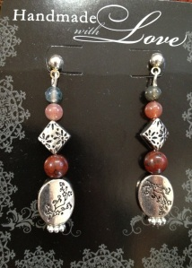 Win these autumn jasper & Tibetan silver earrings!