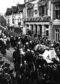 Prince Albert's funeral procession, 1862