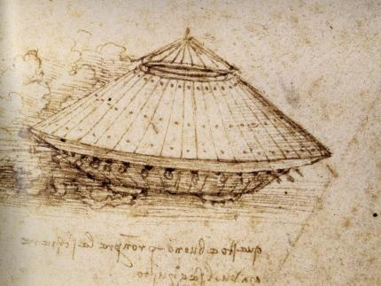 DaVinci's model of an armored tank. Did you know modern scientists have been assembling prototypes from DaVinci's plans, and a lot of them actually work?