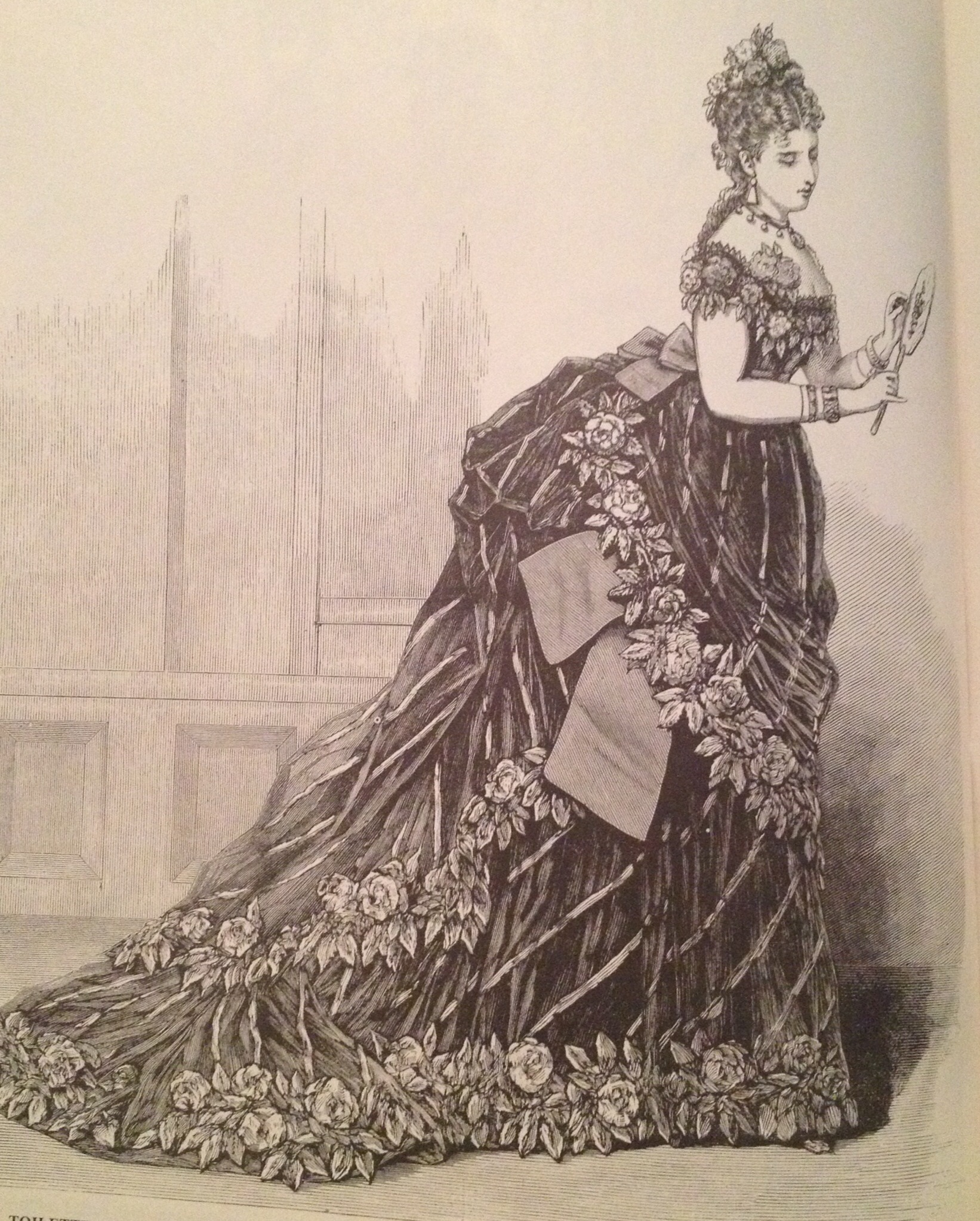 Victorian Fashion Sketches – Moriah Densley