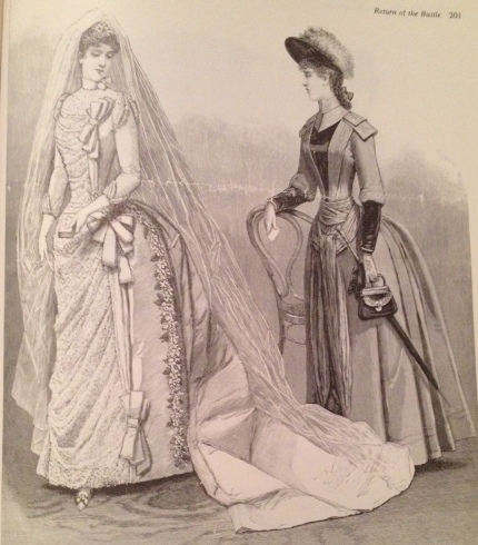 bridal dress 1888
