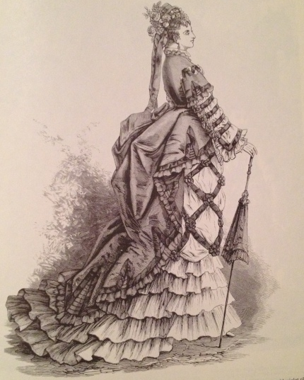 1873 carriage dress